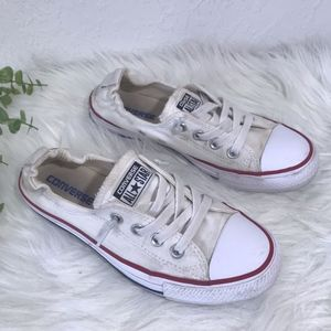 Converse All Star Slide On Size 7.5 White
